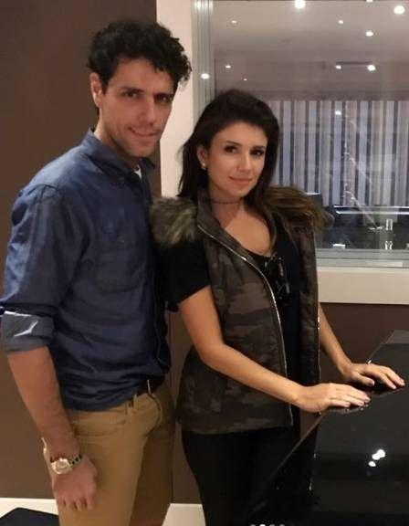 Thiago Arancam e Paula Fernandes posam juntos na Itália e fãs especulam sobre possível namoro (Foto: Reprodução Instagram)