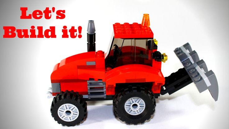 Let's Build LEGO Classic 10697 Farm Tractor