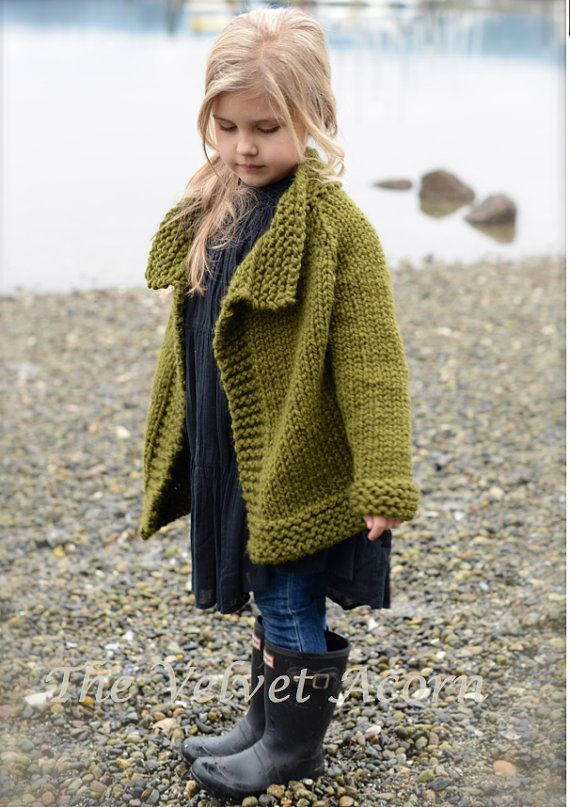 KNITTING PATTERN-The Taruyn Sweater 2 3/4 5/7 by Thevelvetacorn