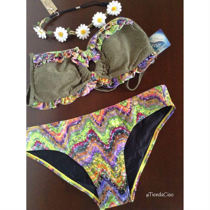 Vestido de baño marca Phax + balaca de flores x $40.000. Talla L Súper Promo ☺️  #domicilio #envíos #nacionales #colombia #medellin #choco #cartagena #cucuta #quibdo #armenia #pereira #manizales #buga #barranquilla #bogota #bucaramanga #barrancabermeja #putumayo #santamarta #sincelejo #montelibano #monteria