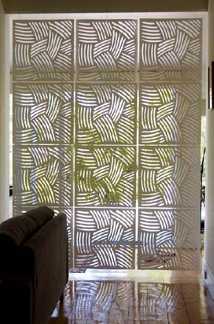 diy room divider | Steve Howkins Dividers + Lighting | decor8