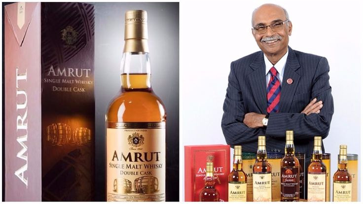 How did Amrut Single Malt become the world's third best whisky?