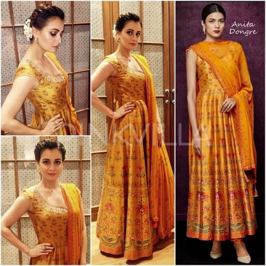 Celebrity Style,anita dongre,dia mirza,Theia Tekchandaney,Pink City by Anita Dongre