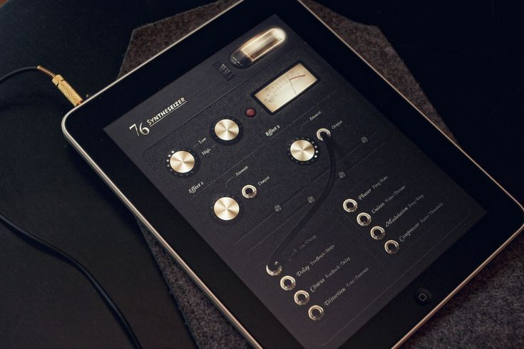 iPad interfaces