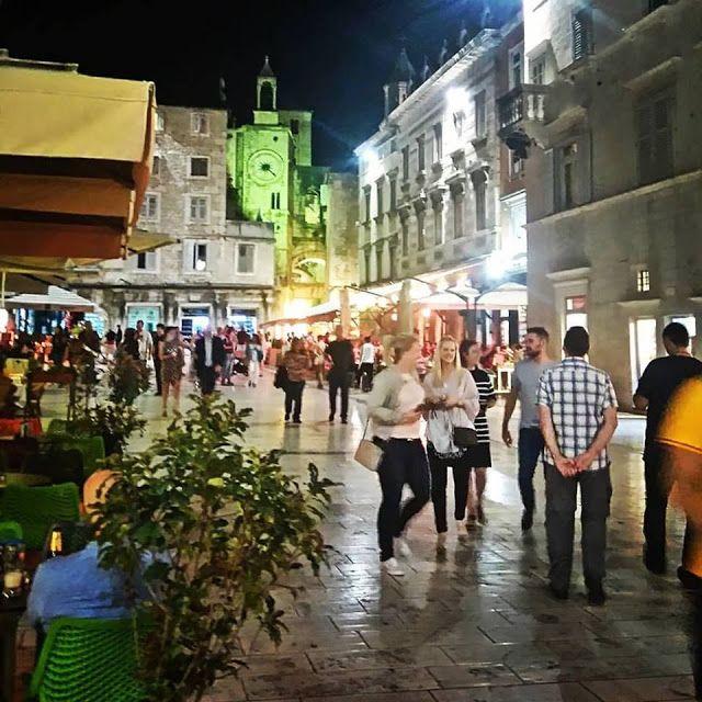 TGM for Split Dalmatia Croatia: People's Square (Pjaca) Split Dalmatia Croatia