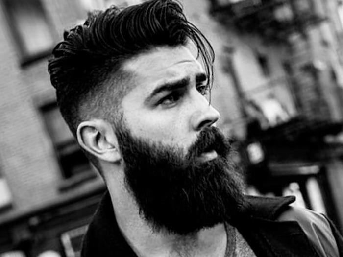 look hipster homme coiffure tendance 2017 long dessus banane court coté dégradé undercut