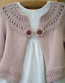 girls cardigan knitting patterns - Pesquisa Google