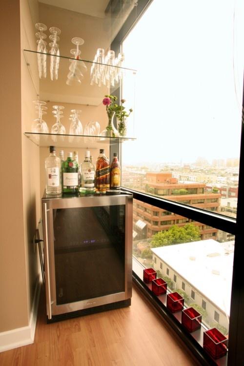 Mini Bar... Living Room ...