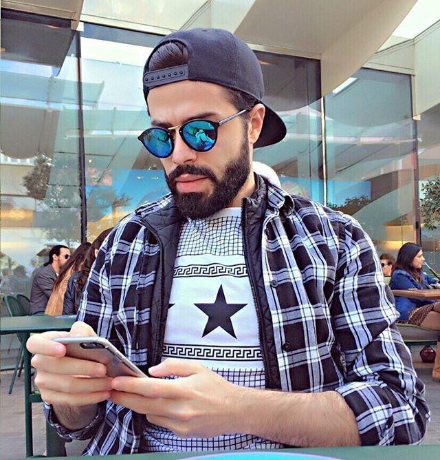 @saad.yassine    #instaphotos  #barbudosepeludos #beardedandhairy #barbudos #bearded #peludos #hairy #barba #beard #pelos #barbaepelos #homens #boys #men #brazil #world #followme #fanfab #naodepileapare by barbudosepeludos