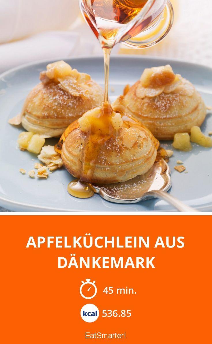 Apfelküchlein aus Dänkemark - smarter - Kalorien: 536.85 kcal - Zeit: 45 Min.   eatsmarter.de