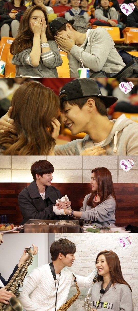 song jae rim modeling | Kim So Eun y Song Jae Rim son captados mientras están punto de darse ...