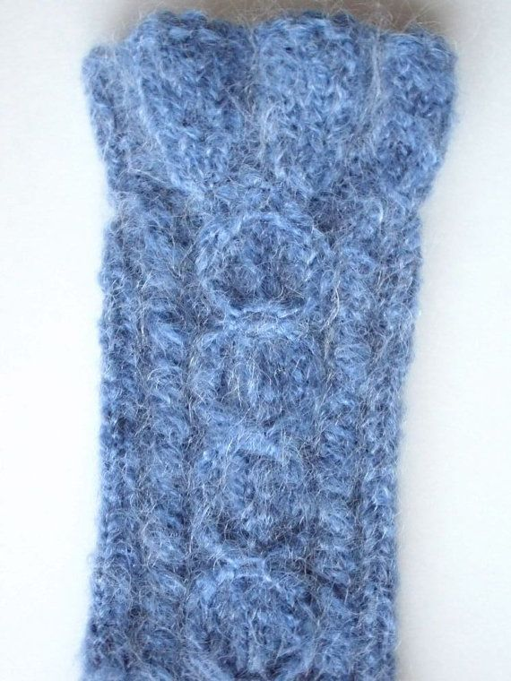 KNEE  HIGH SOCKS  Size 9.5 10  Length  from by MarikaHandKnits, $72.00