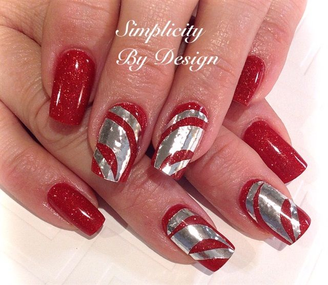 holiday nail art 596 best nail images on 10075