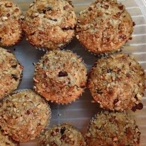Muffins à l'avoine et aux pépites de chocolat