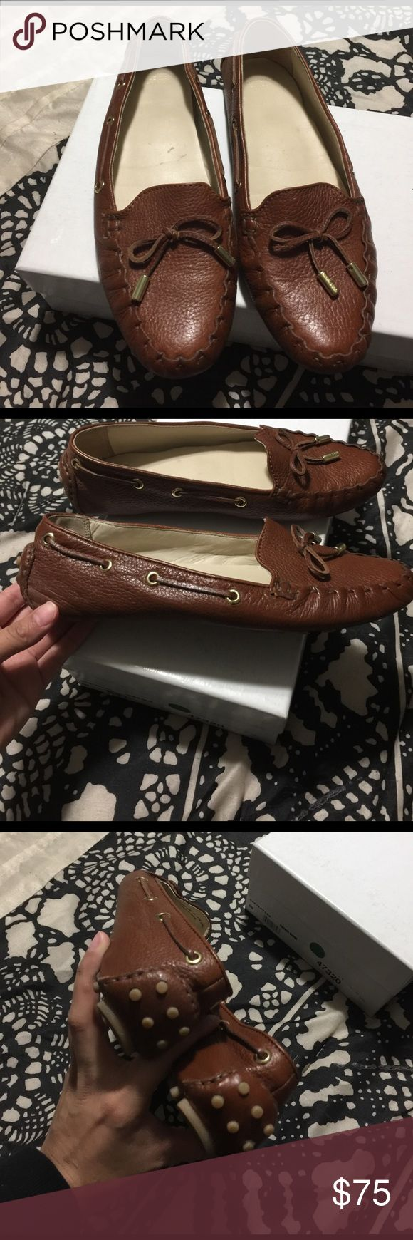 Cole hann loafers Great shape loafer don't have box but can ship in different box great shape has small scuff in frt but not bad at all Cole Haan Shoes Flats & Loafers