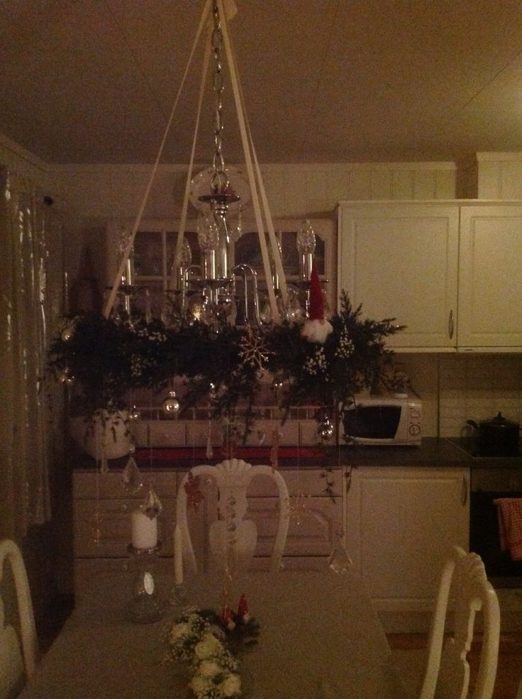 Decoration wreth for x-mas table