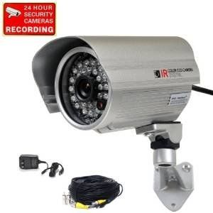 Special Offers - VideoSecu Bullet Outdoor Weatherproof Color CCD CCTV Security Camera 420TVL Wide View Angle Lens 28 Infrared IR Leds for Night Vision with Power Supply and Extension Cable IRX5 BAL - In stock & Free Shipping. You can save more money! Check It (June 22 2016 at 03:40AM) >> http://wpcamera.net/videosecu-bullet-outdoor-weatherproof-color-ccd-cctv-security-camera-420tvl-wide-view-angle-lens-28-infrared-ir-leds-for-night-vision-with-power-supply-and-extension-cable-irx5-bal/