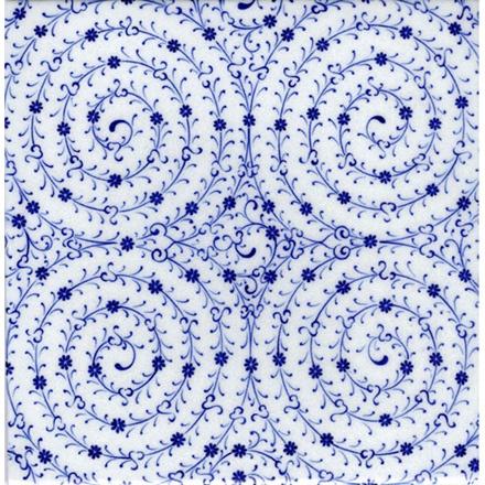 Estuary Design Tiles T002Tile Sizes: 12x12 cm - 20x20 cm - 23,5x23,5 cm - 29,5x29,5 cm - 41,5x41,5 cm
