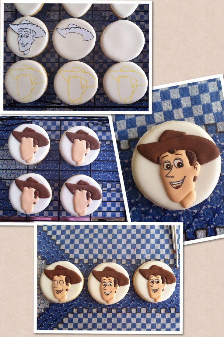 Woody cookies process