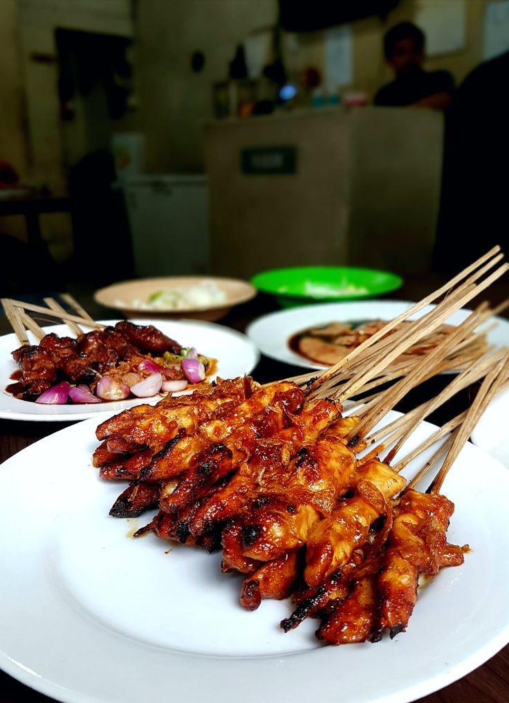 """""""Sate Ayam"""", Kim Tek, Jakarta"""