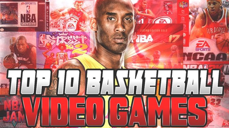 Top 10 NBA Video Games of All-Time!