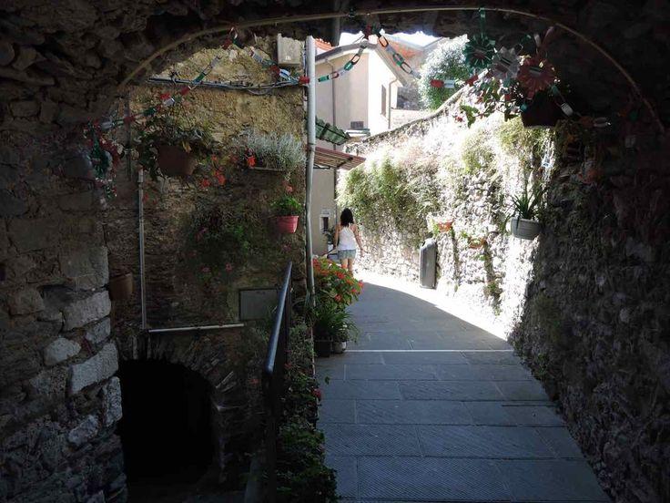 Colonnata è una frazione di Carrara, da cui dista 8 km, situata su uno sperone roccioso all'inizio delle Alpi Apuane a 532 metri, nella Versilia Luniciana.