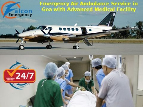 Our air ambulance service from Goa provides Goa to Delhi, Goa to Vellore and Goa to any city with best ICU facility and advanced doctor service for the patient at minimum cost. Falcon Emergency air ambulance service in Goa provides 24 hours medical facility with good medical service and paramedical staff team at very low cost. Read More: - http://www.falconemergency.com/air-ambulance-services-from-goa/