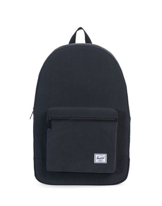Herschel Cotton Casuals Daypack Bag Black ON SALE NOW | Shop all sale at The Idle Man | #StyleMadeEasy