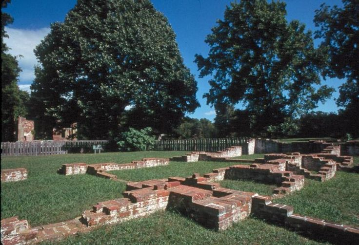 New Towne section of Jamestown Colonia National Historical Park VA