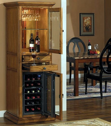 Tresanti Thermoelectric Wine Coolers Come In Classic Furniture Styled Cabinets That Are Crafted From The Highest Quality Hardwood Solids And