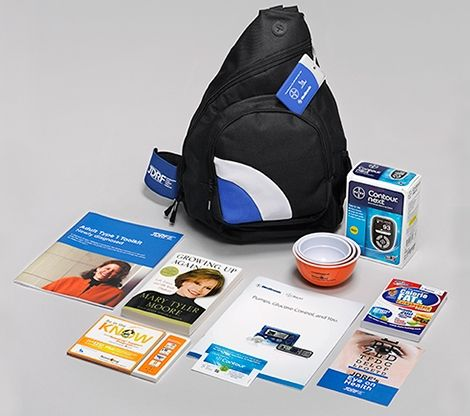 The JDRF T1D Care Kit is a free resource providing information and tools to educate, support and inspire *newly diagnosed ADULTS* with type 1 diabetes (T1D). A sling-style bag contains an Ascensia Contour® Next meter, Contour® Choice card and educational inserts, Medtronic educational resources and CalorieKing book provided by Medtronic, a set of Novo Nordisk measuring …