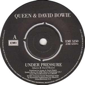 Under Pressure (Queen, David Bowie)  1981