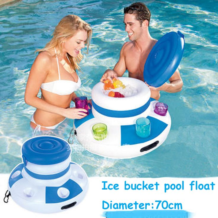 2017 New Inflatable Ice Bucket Pool Float Pool Inflatable Toys Cute Float  Row Summer Water Pool