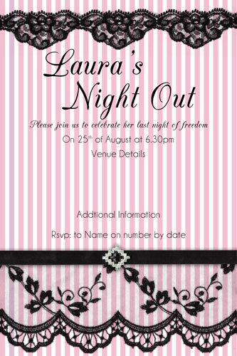 16 best Bachelorette Party Hens Night Invitations images on