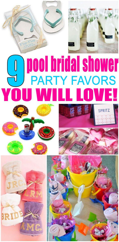 Pool Bridal Shower Party Favors | Bridal Shower | Pinterest | Bridal ...