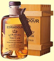 Laying claim to the title of Scotlands smallest distillery The Edradour distillery is located on the edge of the Southern Highlands, offering one of the most varied portfolios of finishes in Scotland
