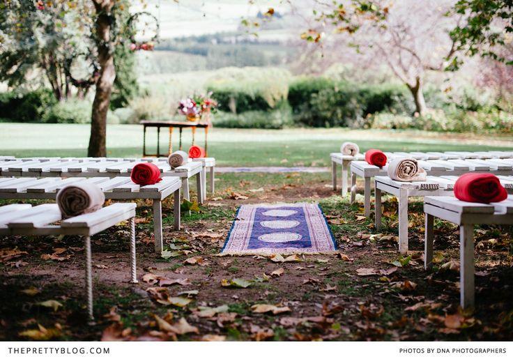 Anja and Josua's Heart-Warming Autumn Celebration | Real weddings | The Pretty Blog