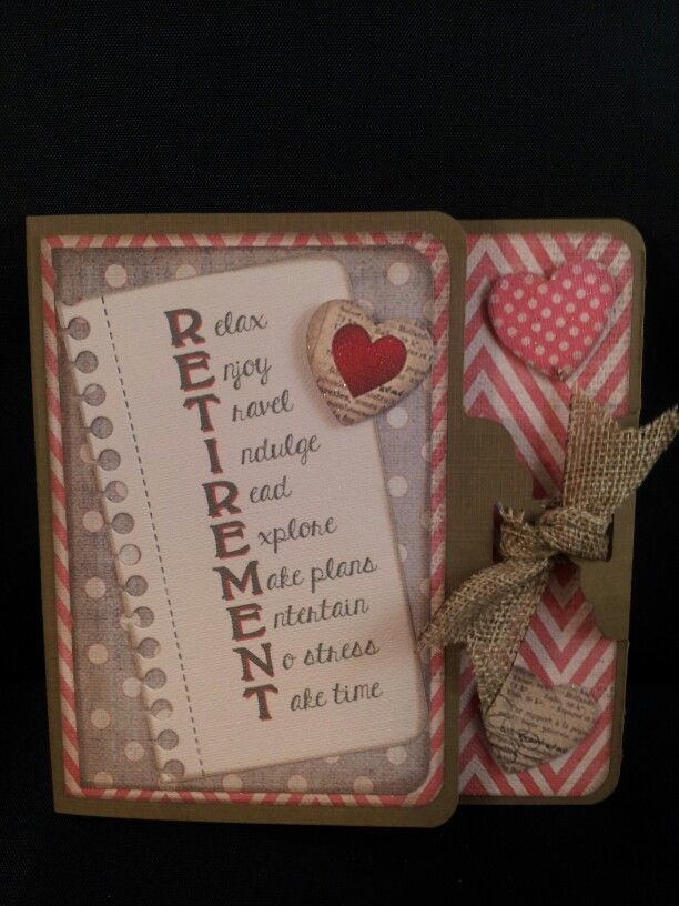 Retirement Scrapbook Quotes Card Retirement Investing