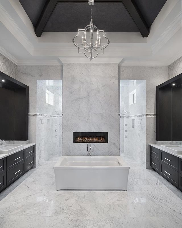 pictures to hang in master bathroom%0A Custom Master Bath by Naples Architect Weber Design Group