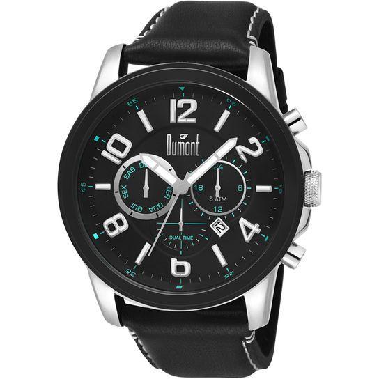 Relógio Dumont Analógico - Preto