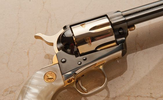 ❦ Colt .45 Caliber Single Action Arizona Territorial Centennial Revolver          Sold for $ 3,163