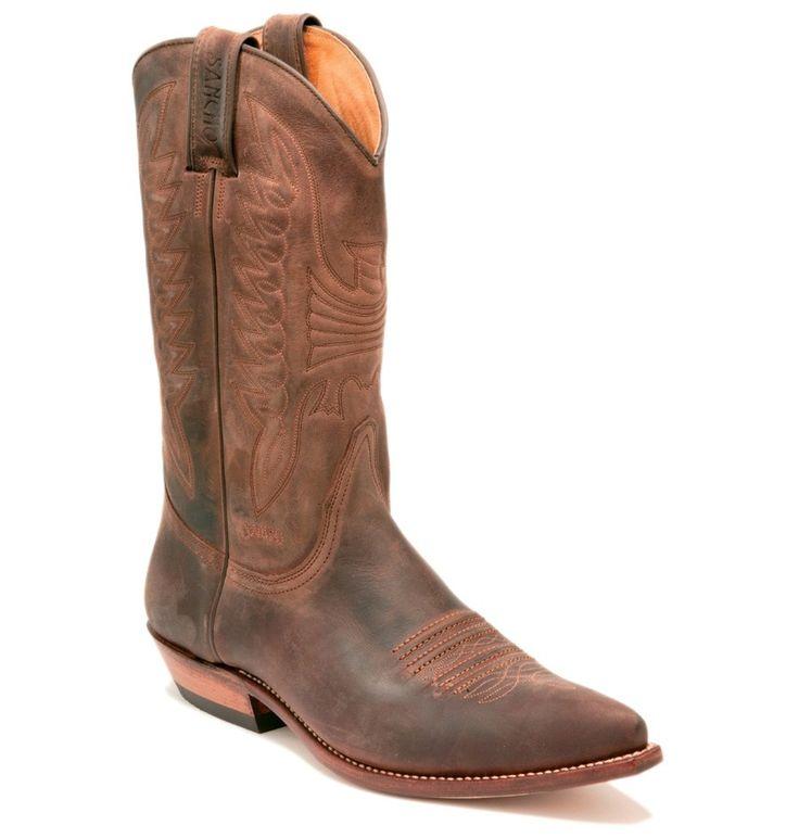 Sancho - Sancho Boots Western Stiefel DENVER braun