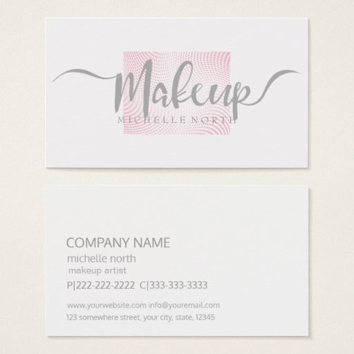 Best girly business cards images on pinterest art