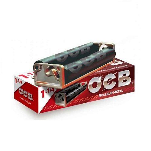 Aparat OCB metalic pentru rulat tutun  Cu acest model de aparat se pot folosi foite cu lungimea de maxim 70 mm  Corpul realizat din metal!