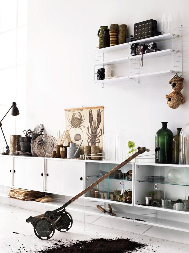 Bildresultat för stringhylla sideboard