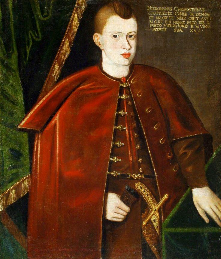 Portret królewicza Władysława Wazy
