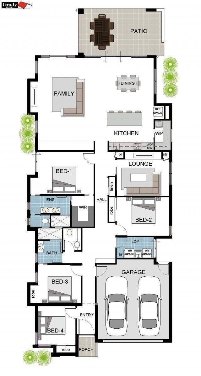 alsop-floor-plan Home ideas in 2018 House plans, Floor plans, House