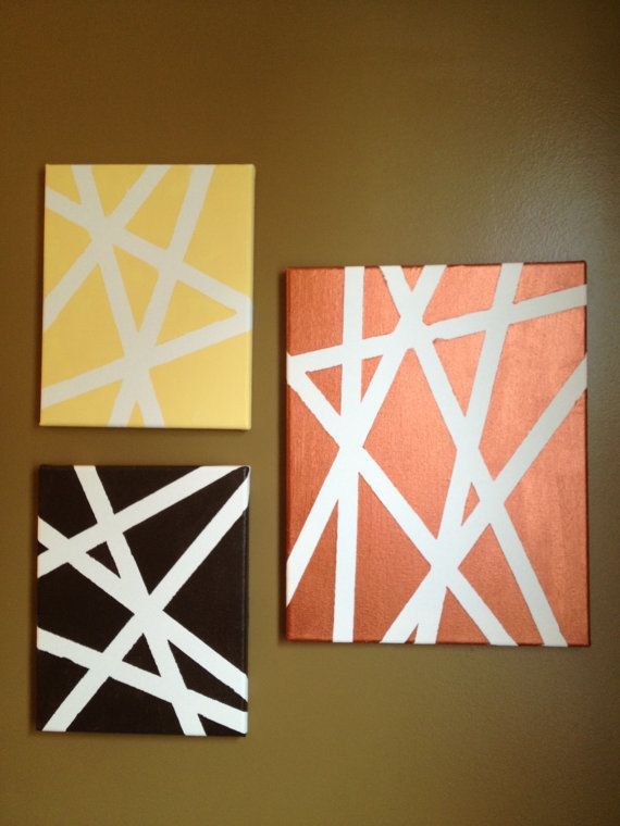 25 best ideas about easy abstract art on pinterest for Easy diy home decorations