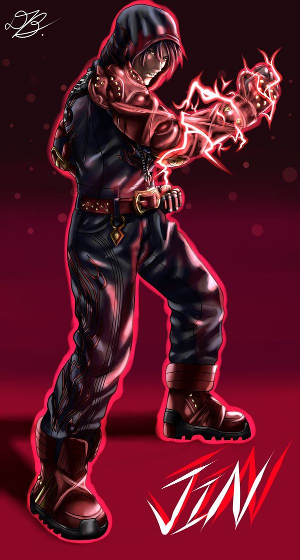 Jin Kazama Tekken 7 By Baihu27 On Deviantart Jin Kazama Tekken 7 Tekken 7 Jin