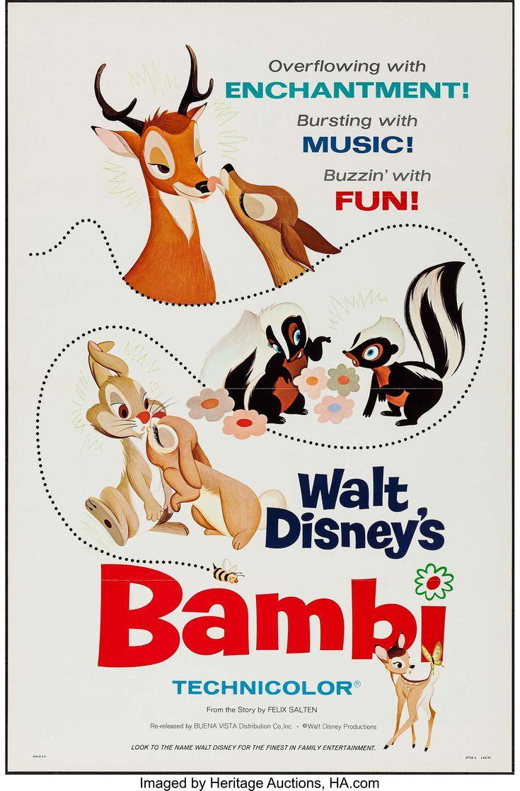 Bambi (Buena Vista, R-1966).